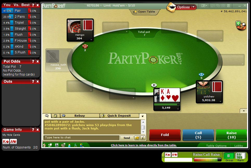 poker uhr freeware