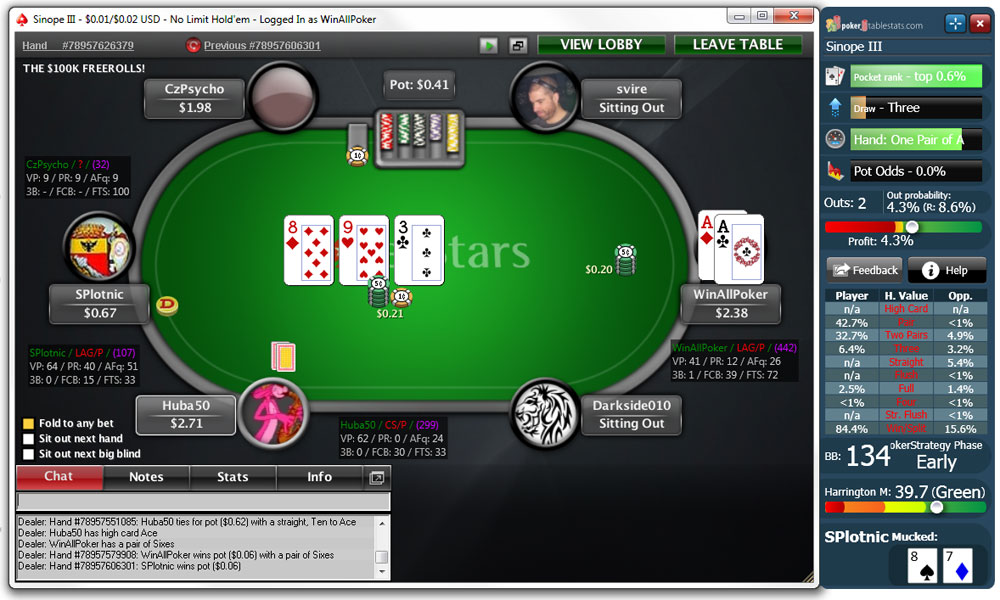 pokerstars tools
