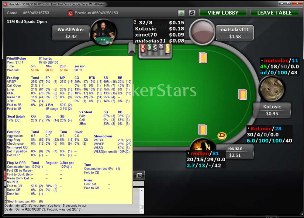 Rebuy in poker tournament