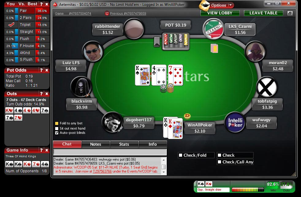 Texas holdem double chance